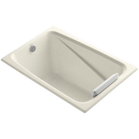 what is a reversible drain bathtub kohler greek 4 ft reversible drain acrylic soaking tub in