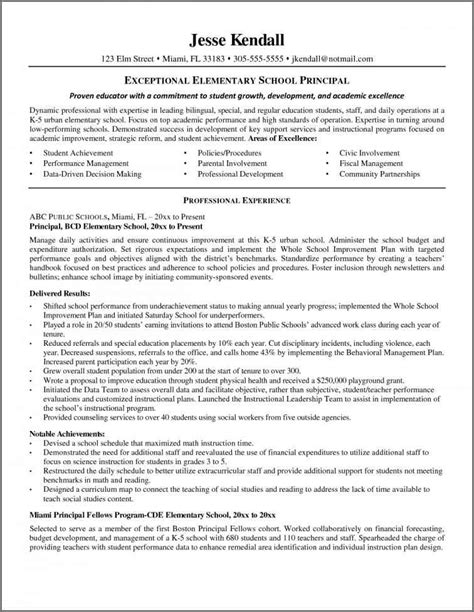 Cover Letter For Vice Principal Assistant Principal Resume Bidproposalform