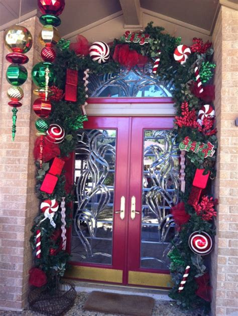 christmas ornaments with door design