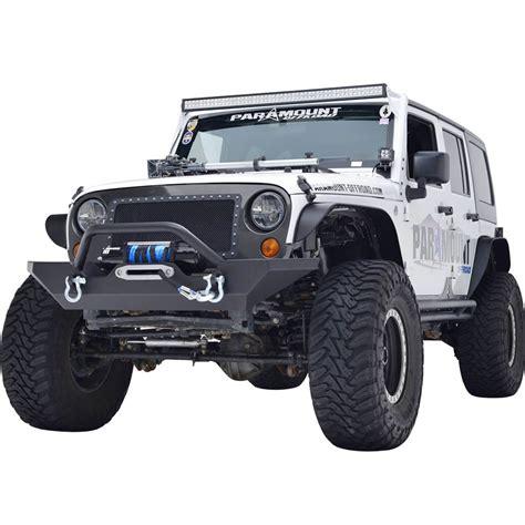 jeep jk rock crawler 07 16 jeep wrangler jk heavy duty rock crawler front bumper