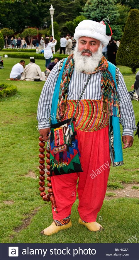 ottoman man istanbul turkey turkish old man ottoman costume stock