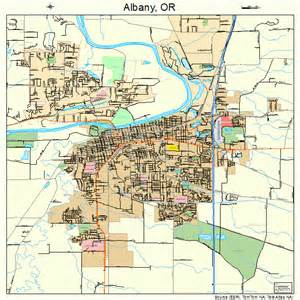 where is albany oregon on map albany oregon map 4101000