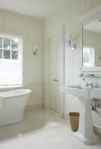 Bathroom Ideas With Beadboard Bathroom With Beadboard Backsplash Cottage Bathroom