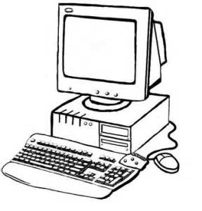 printable coloring pages of computer parts coloring point