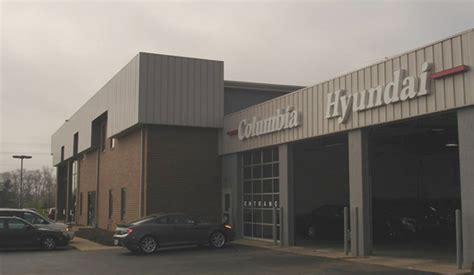 Hyundai Dealership Cincinnati Columbia Hyundai Hyundai Dealership With New And Used