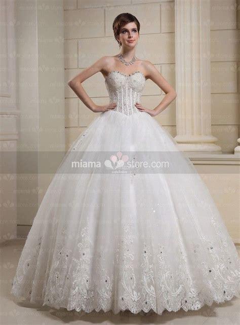 Basque Wedding Dress by A Line Gown Sweetheart Basque Waist Floor Length