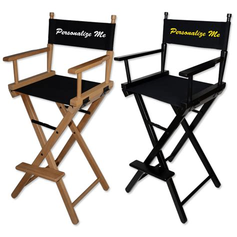 customizable directors chair custom made directors chair