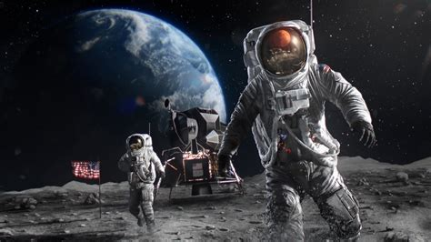 astronauts  moon  wallpapers hd wallpapers id