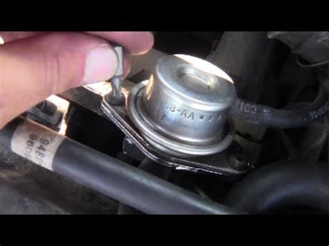 how to remove install fuel pressure regulator youtube