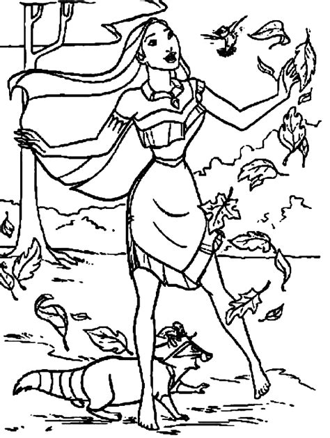 Printable Pocahontas Coloring Pages Coloring Me Pocahontas Coloring Pages