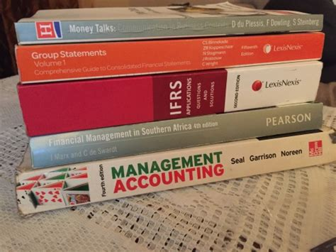bcom accounting books for sale unisa uj etc south rand