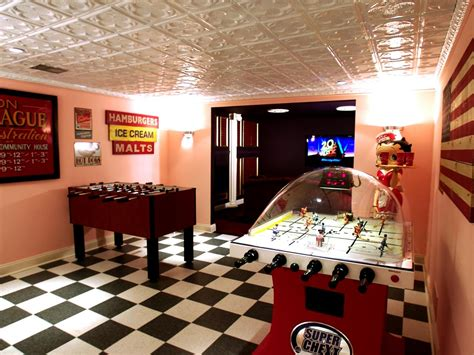 this archetypical 50 s rec room basement features the top six basement spaces hgtv