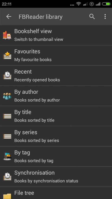 Los mejores lectores de eBooks para Android