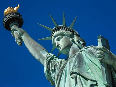 lade liberty the statue of liberty was originally a muslim