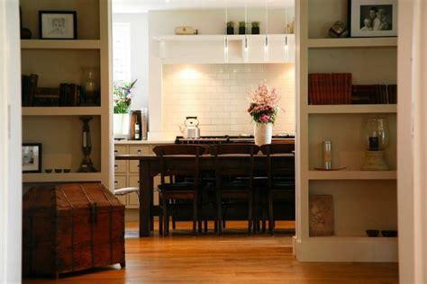 Bi Folding Dining Room Doors Modern Open Plan Kitchen Dining Room With Bi Folding