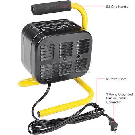 comfort zone cz448 heaters portable electric comfort zone 174 shop heater