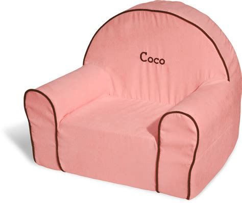 Toddler Personalized Chair by Personalized Toddler Chair Pink Microsuede