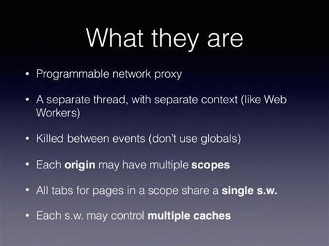 Javascript Worker Pattern | javascript service worker design patterns for better user