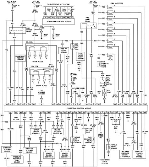 93 thunderbird headlight wiring diagram get free image