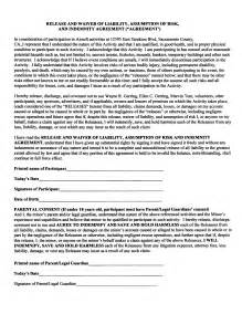 waiver of liability template free liability waiver forms free printable documents