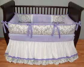 Baby Crib Bedding Sets Purple Lavender Baby Bedding