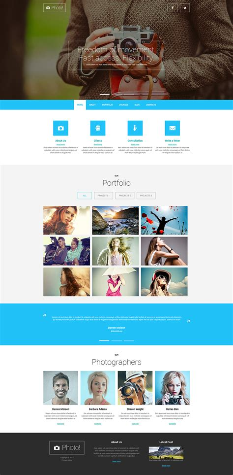 15 joomla templates with parallax effects free templates