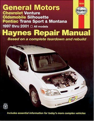 old car repair manuals 1994 oldsmobile silhouette user handbook general motors chevrolet 1997 thru 2003