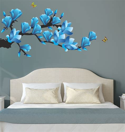 wallpaper for walls flipkart new way decals wall sticker floral botanical wallpaper