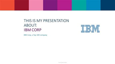 Ibm Powerpoint Template Presentationgo Com Ibm Ppt Template Free