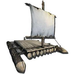 wooden raft official ark survival evolved wiki