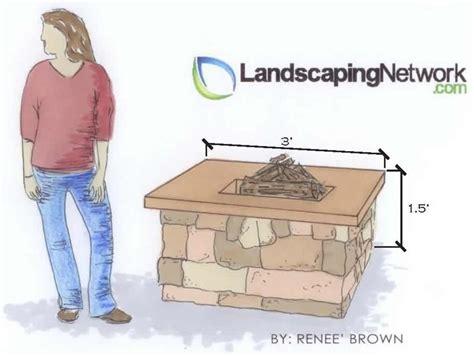 diy pit dimensions average pit sizes landscaping network