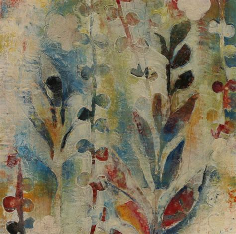 garden fragments b by jody hewitt brimhall encaustic