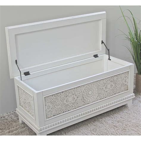 Storage Box White Aneka Motif awesome bedroom storage chest contemporary home design ideas degnerfordelegate