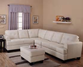 Contemporary Bedroom Furniture Toronto - toronto tufted cream leather l shaped sectional sofa at gowfb ca true contemporary