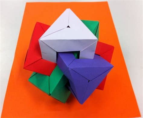 Origami Triangular Prism - the origami forum view topic what you folded lately