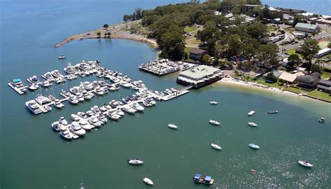 boat mooring port stephens soldiers point marina port stephens nsw
