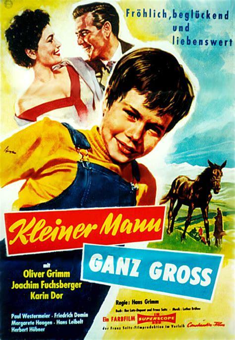 film ganz filmplakat kleiner mann ganz gro 223 1957 filmposter