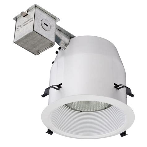 lithonia recessed lighting fixtures lithonia lighting 5 in matte white recessed baffle light
