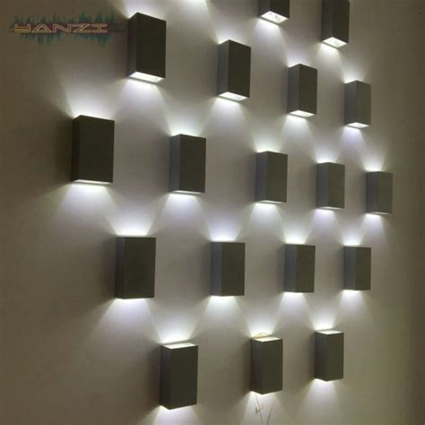 decorative wall lights for homes unique led light for your house walls to decor you interior