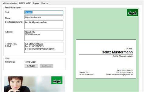 Visitenkarten Nach Vorlage by Kostenlos Eigene Visitenkarten Erstellen Und Ausdrucken