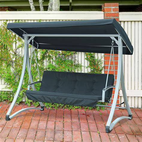 sunjoy tinley two seat swing outdoor living patio