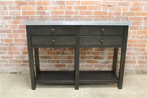 summer highlands convertible 4 in 1 crib zinc console table zinc topped console table by bryonie