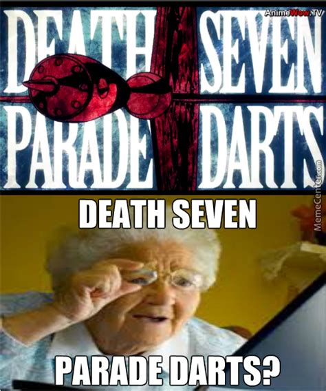 Parade Meme - anime death parade by satbat meme center