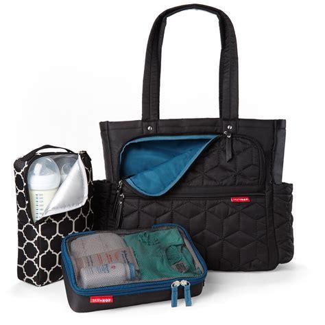 new skip hop forma pack go nappy baby bag black