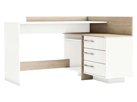 bureau thales bureau avec retour 3 tiroirs thales 2 coloris ch 234 ne bross 233