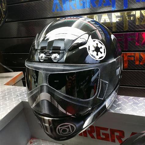 airbrushed motocross helmets custom painted tie fighter helmet 3 helmet options z1r