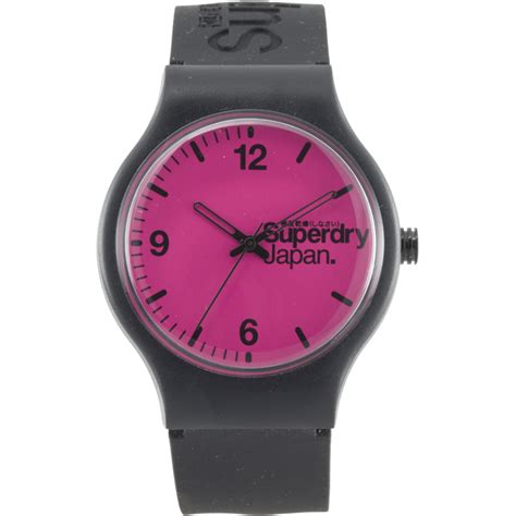 Superdry Watches by Superdry Superdry Sport Sd051pkbk Shade Station