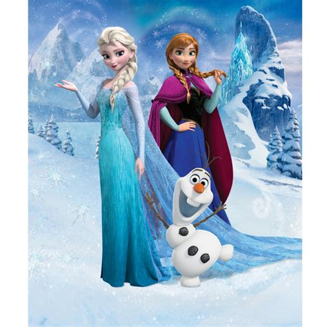 3d animation frozen aisha princess home decor wall disney frozen wallpaper by walltastic great kidsbedrooms
