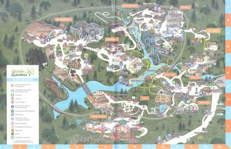 busch gardens williamsburg 2016 park map
