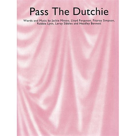 Pass The Dutchy by Sales Pass The Dutchie Sales America Series